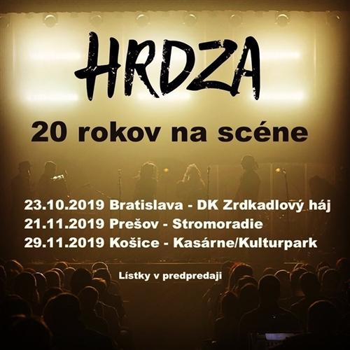 HRDZA - 20 rokov na scéne