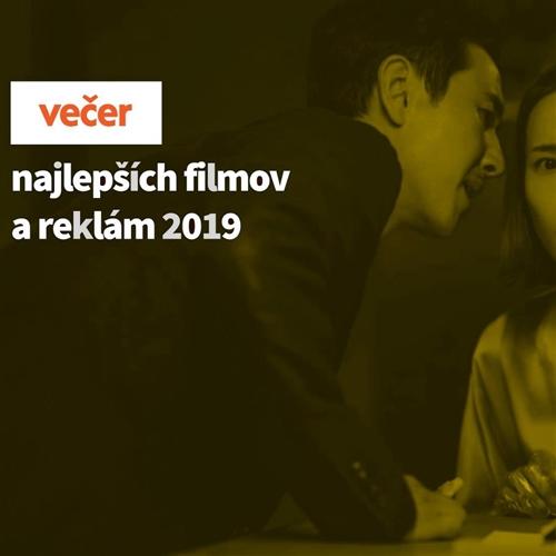 Večer najlepších filmov a reklám roka 2019