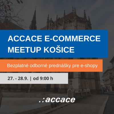 Accace e-commerce meetup Košice